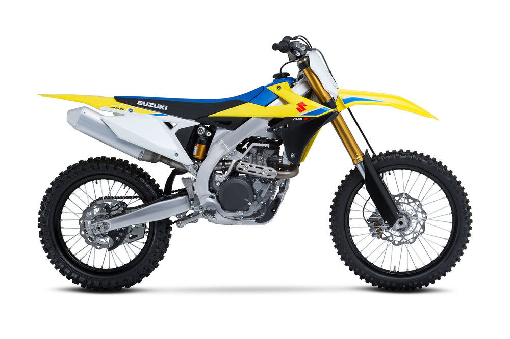 The re-designed 2018 Suzuki RM-Z450 will be available for us to test early August.