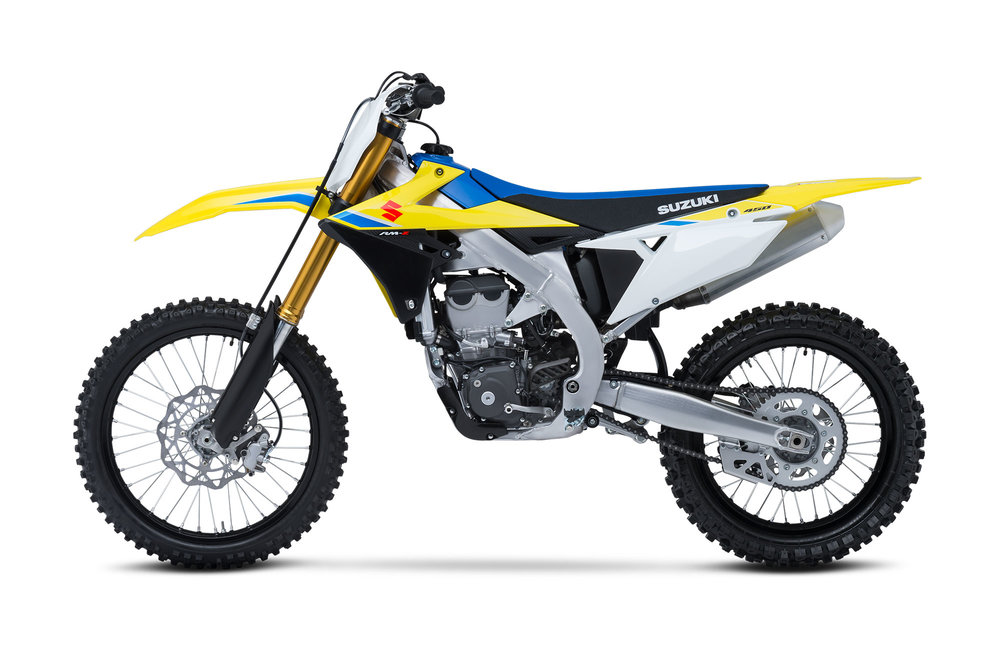 The 2018 Suzuki RM-Z450 is said to hit dealer floors in mid-August.