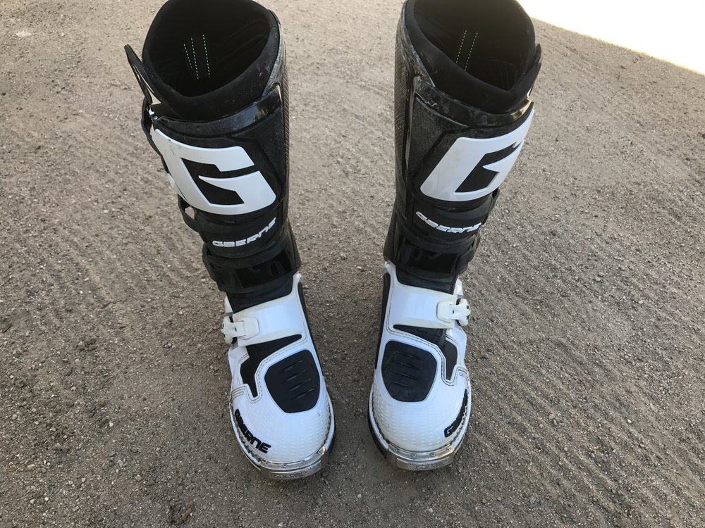 The Gaerne SG-12 boots have become one of only three sets of boots I go to grab when I go ride.