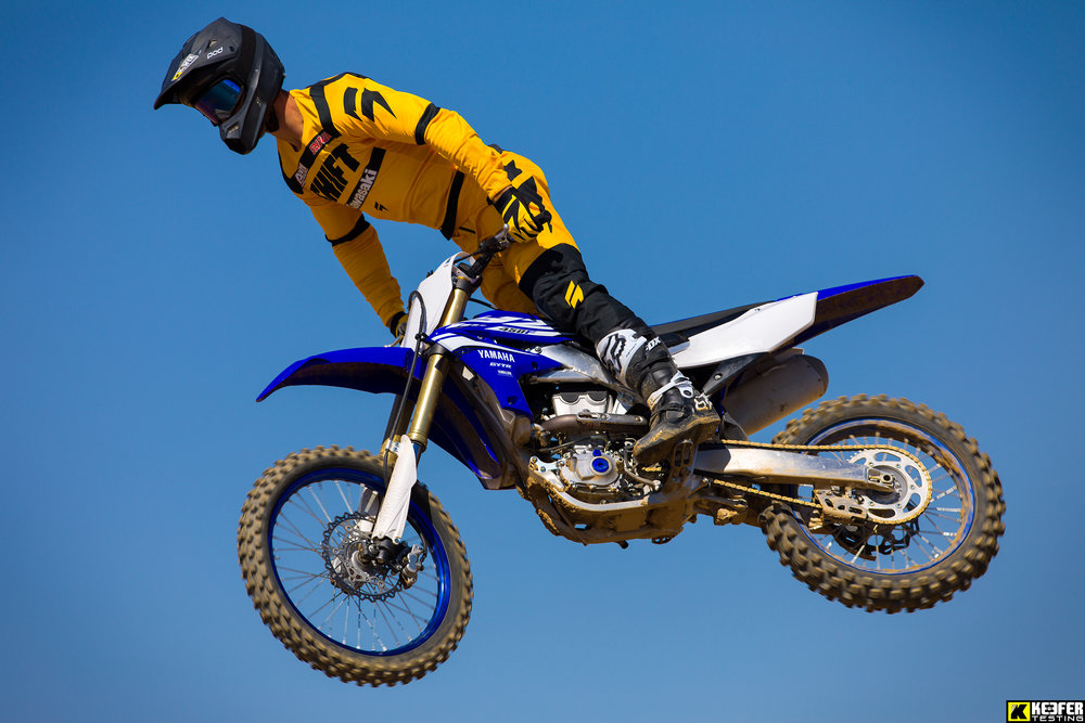 Tyler Bowers looked good on the Yamaha all day long.
