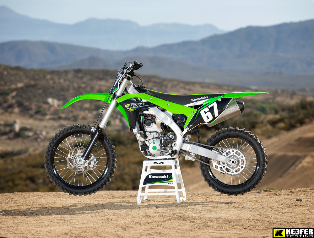 The KX250F is an impressive machine for 2018.