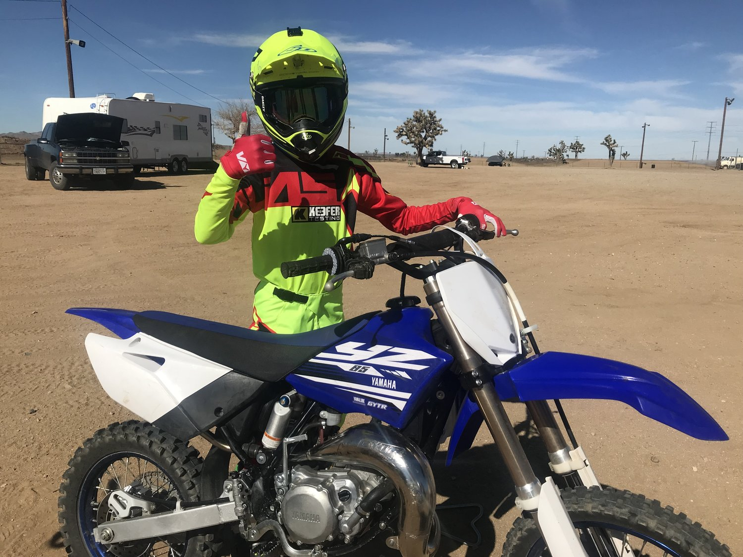 2018 Yamaha YZ85 Review — Keefer Inc  Testing