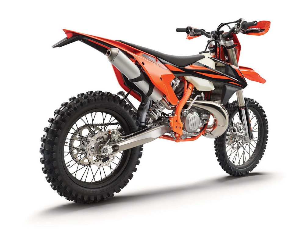 2019 Ktm Off Road Motorcycles First Look Keefer Inc Testing Tubular Body Guard Frame Honda Beat Street 229443 300 Xc W Tpi Rear Ri My19