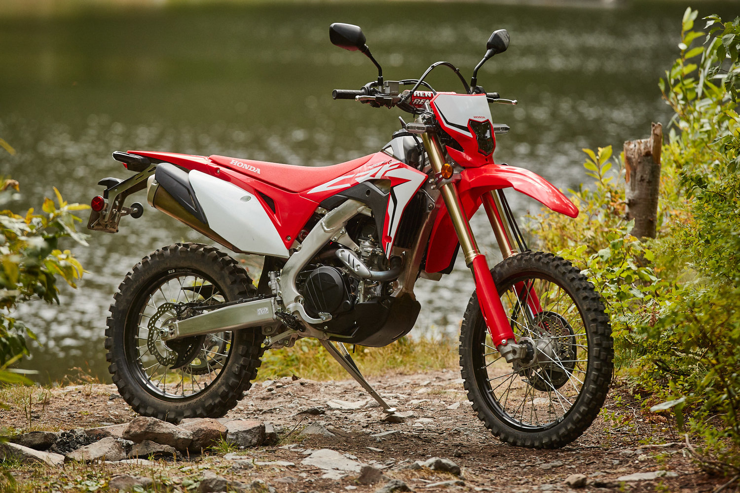 2019 Honda CRF450L First Impression — Keefer Inc  Testing