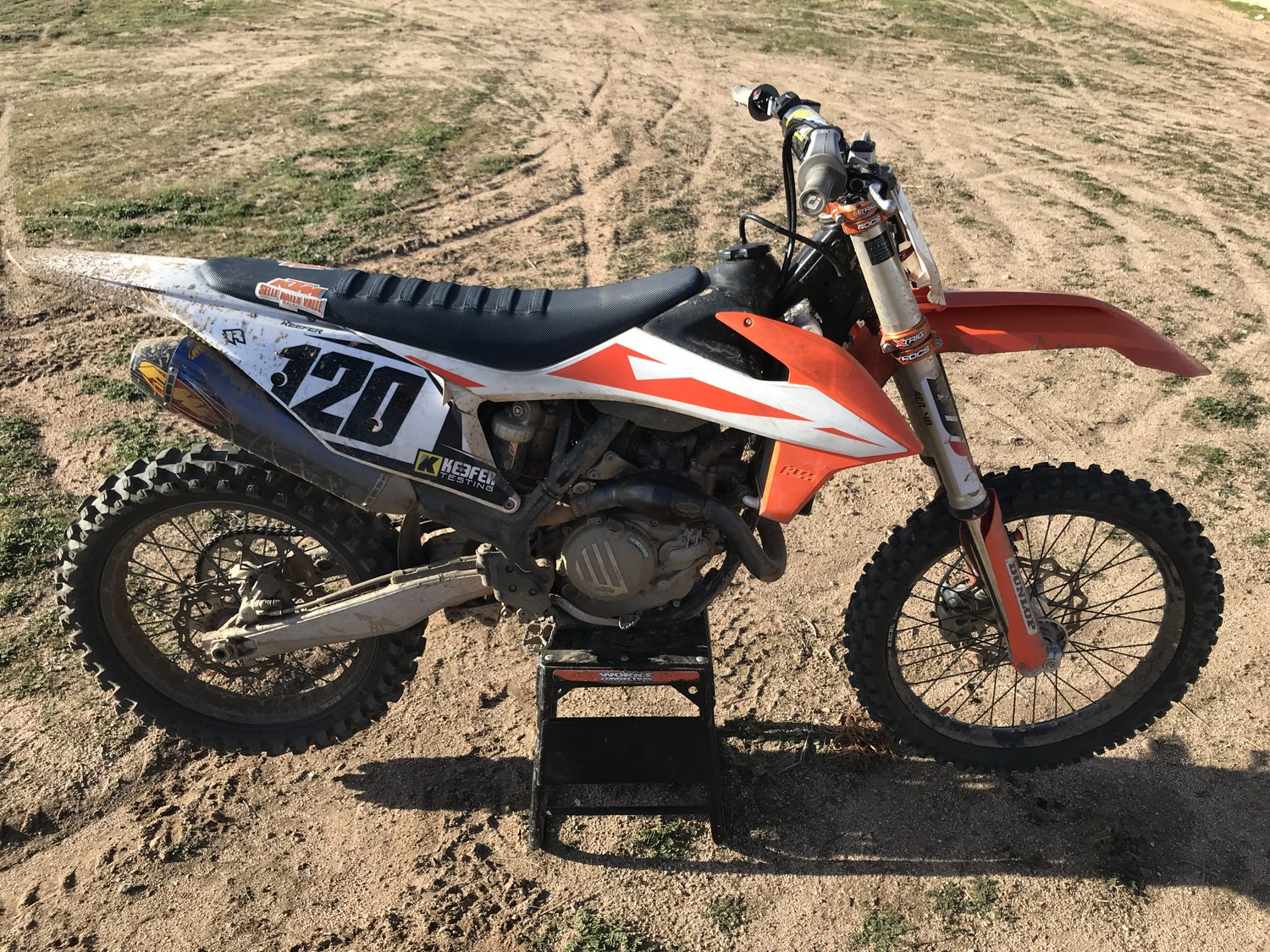 50 Hours On The 2019 KTM 450SX-F — Keefer Inc  Testing