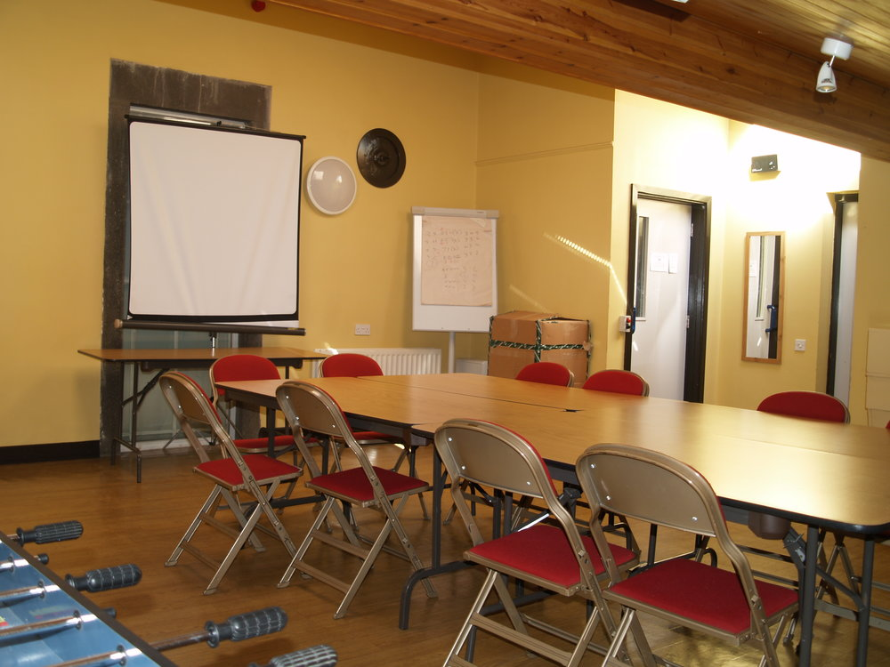 Castleberg - Castleberg Room seats up to 20 people, and can be arranged meeting-style, boardroom-style, or theatre-style. A lift is available for disabled access- please enquire when booking