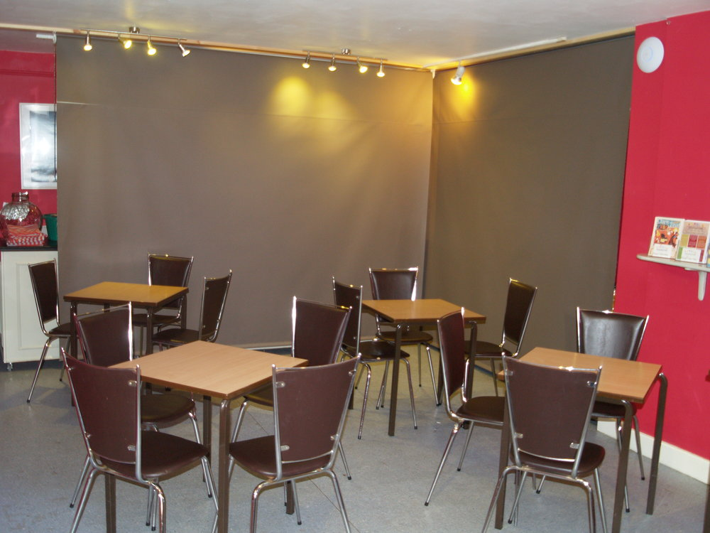 Scaleber - Our bar area converts to a downstairs meeting-room, capable of seating up to fifteen people.