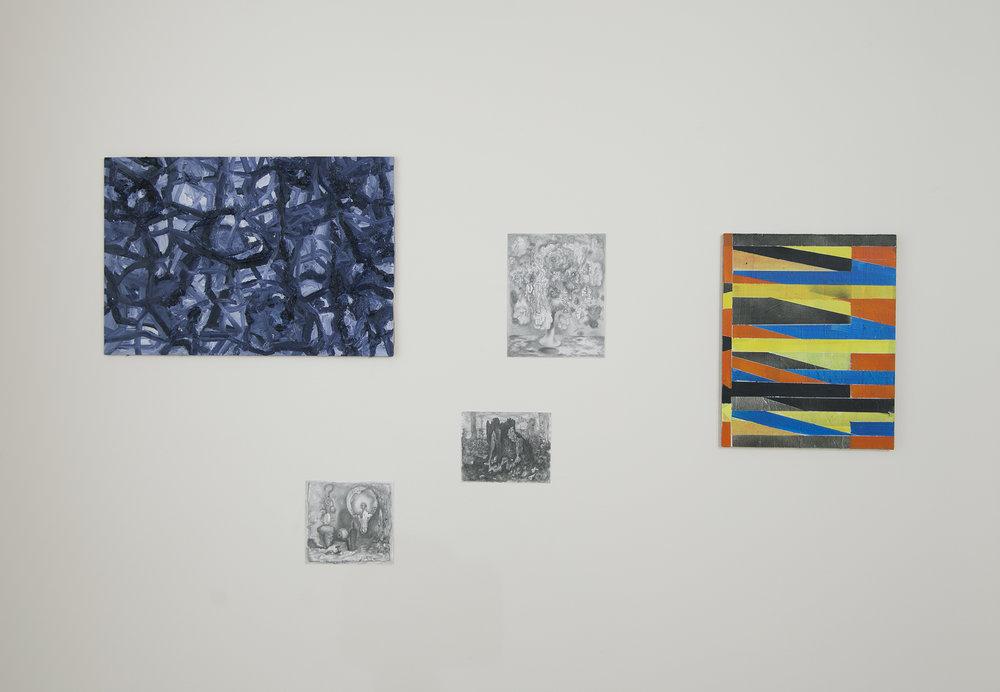 Lizza May David / Josh Marsh (3 drawings) / Mani Hammer