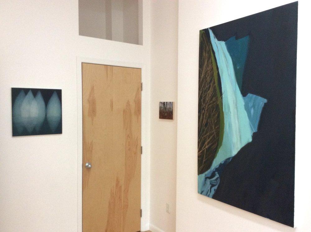Gina Borg: Float, Emma Tapley: Forest, Sag Harbor, Deborah Kirklin: Metlako
