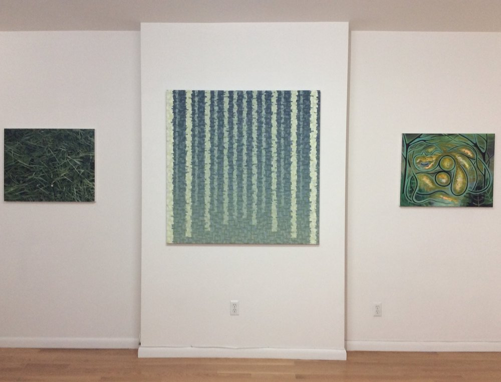 Emma Tapley: Cultivating the Empty Field, Rachel Wren: Defenders, Jennifer Coates: Reclining Figure