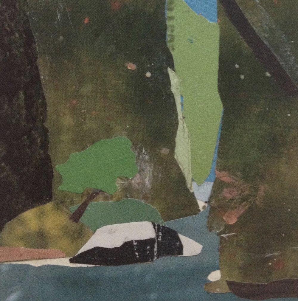 Deborah Kirklin, Oneonta Gorge, Summer (detail)