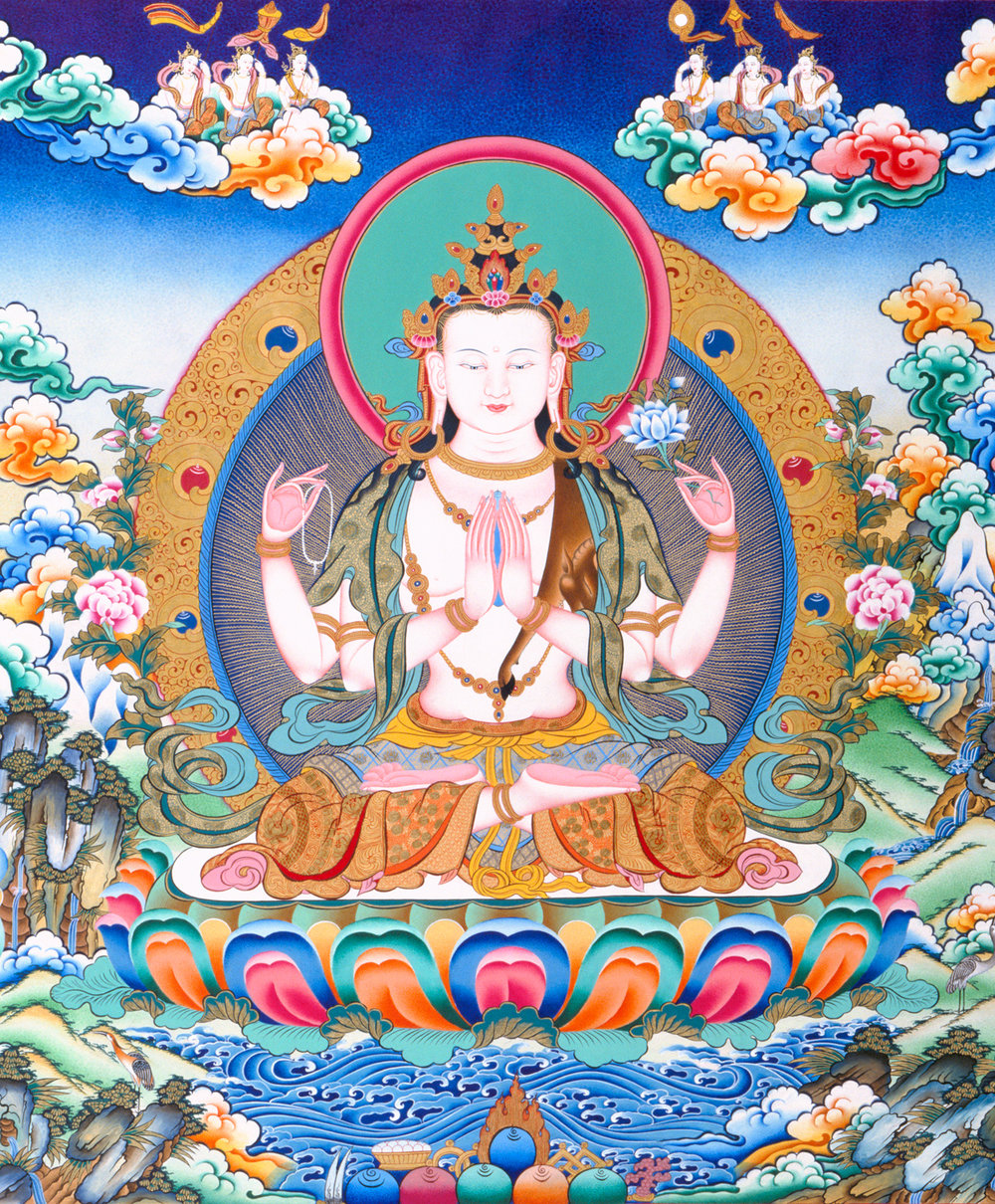Buddha of Compassion.