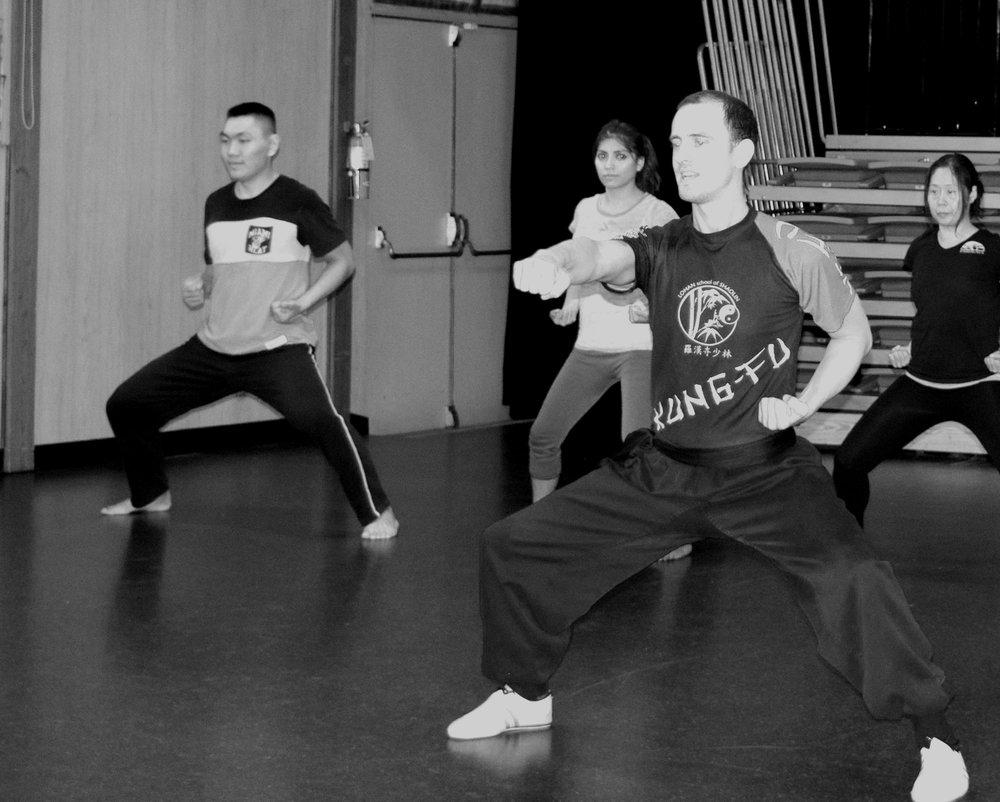 Shaolin Kung Fu at Moberly