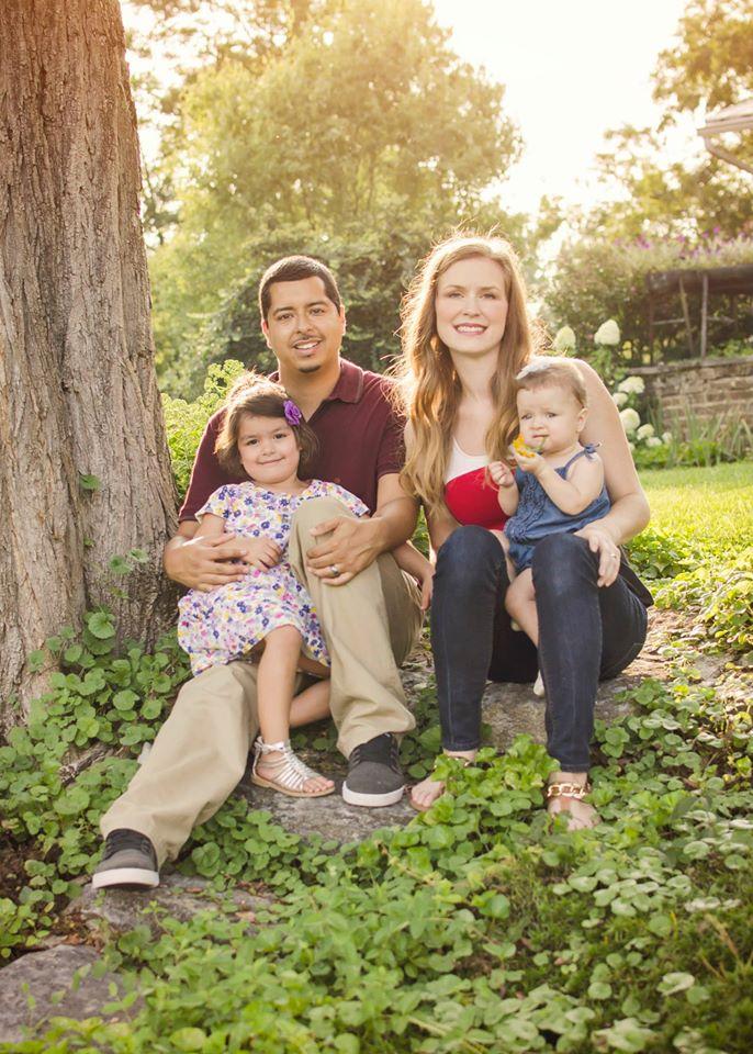 The Family: Gabby, Martin, Jenna, Lita