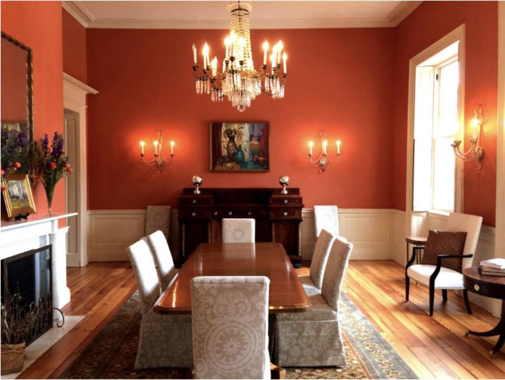 Carrol Mansion Living Room
