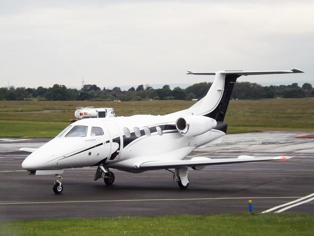 Embraer Phenom 100<strong>A class leading light jet with the performance and quality found in heavier, more expensive aircraft. </strong>