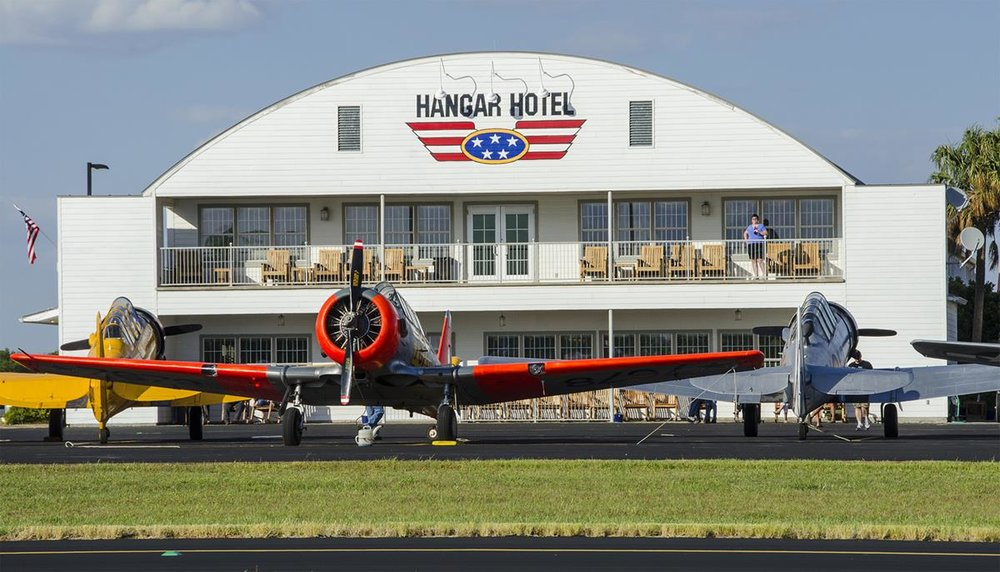 T82 Boasts its own hotel and diner, an AVGeeks dream