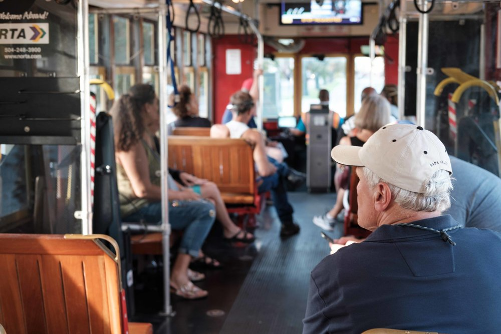 Ride the St. Charles Street Car