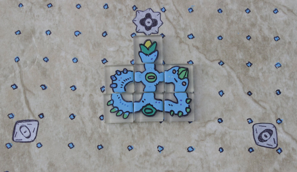 The tiles can also make some pretty fun, unique critters, too.