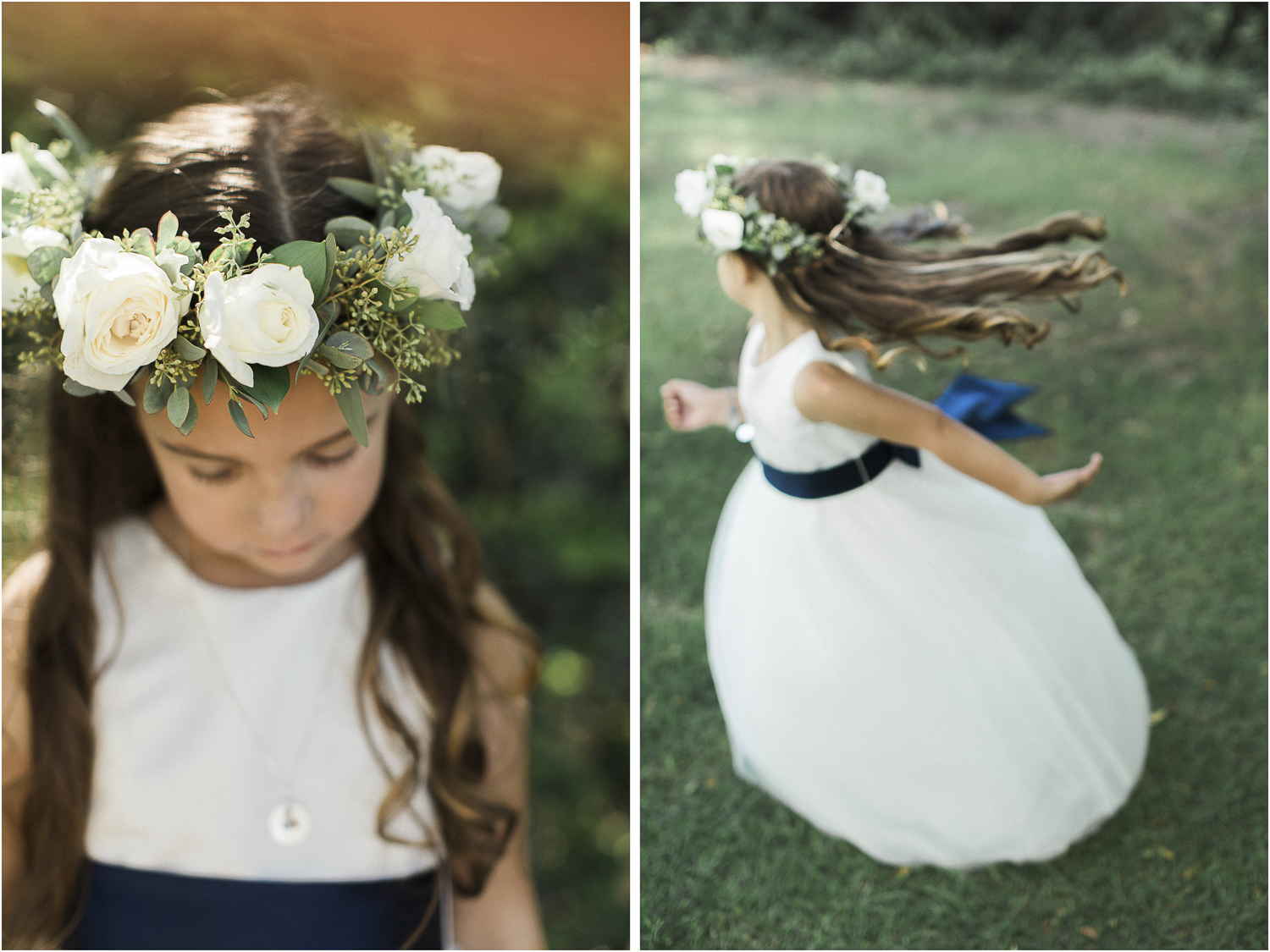 Flower girl sweetness!