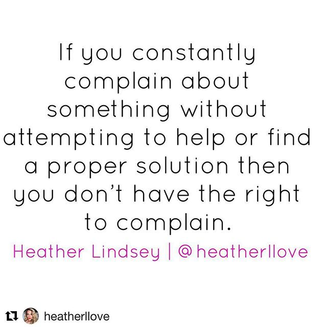 #Repost @heatherllove with @get_repost ・・・ It's so easy to criticize others from the stands. Instead, look for solutions to bring change & it starts with you. #heartcheck