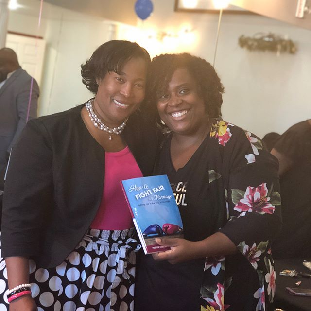 "Yesterday was an amazing book launch for Pastor Crystal Harrison and the release of her book ""How to Fight Fair in Marriage"". This event also featured other women Authors and Entrepreneurs. Be sure to connect and support their work! ___ You can purchase a copy of ""How to Fight Fair in Marriage"" at www.cdhministries.com ___ • • #womenauthors #entrepreneur #protectyourpurpose⚠️ #nonprofitorganization #booksigning #booksigningevent #booktour #authorsofinstagram #blackauthours"