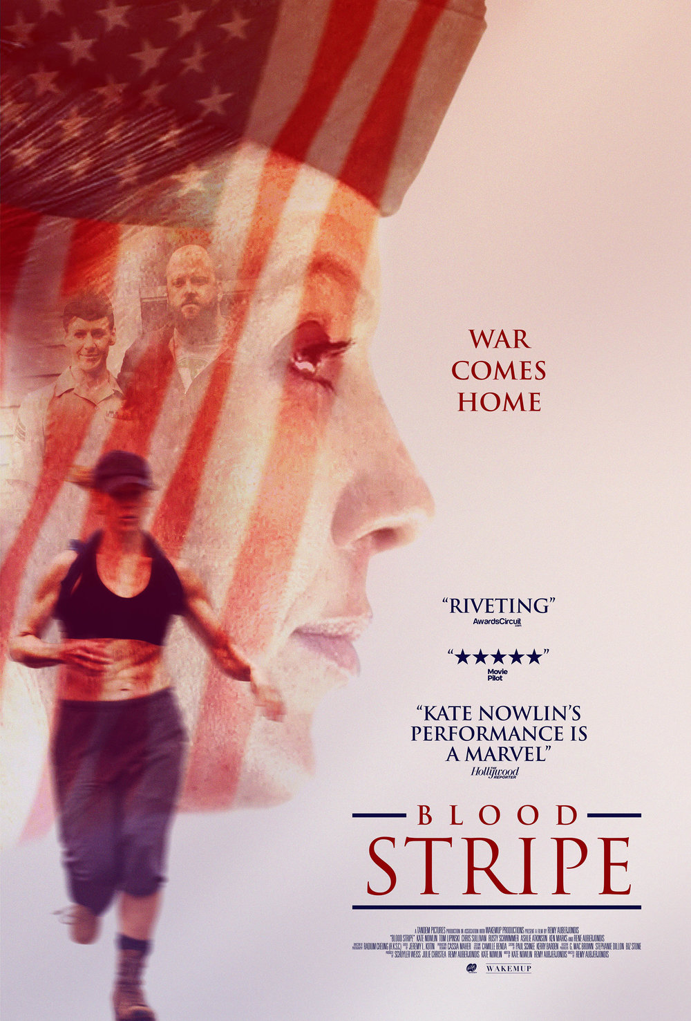 Blood Stripe Movie Poster