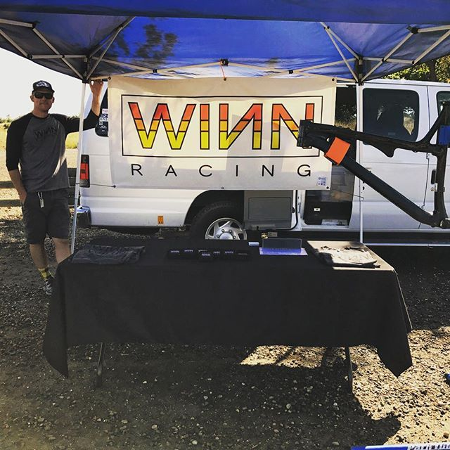 Prairie City, Prairie City, Prairie City! @winn_racing is here for all your #sparetube needs. Giving away a #WINNStrip in the raffle today too. Good luck to all the #prairiecity racers! #saynotoelectricaltape #sparetubeready
