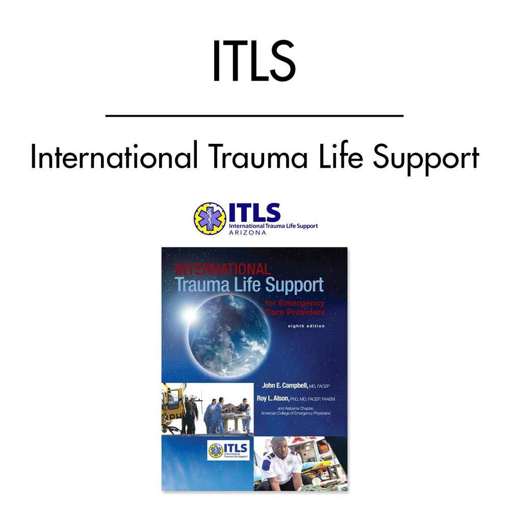 Itls International Trauma Life Support Life Safety Training