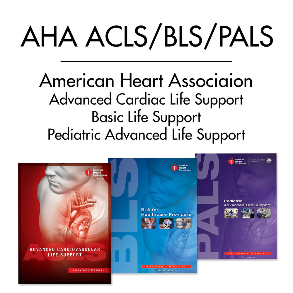 1 DAY of AHA ACLS/BLS/PALS RENEWAL COURSE