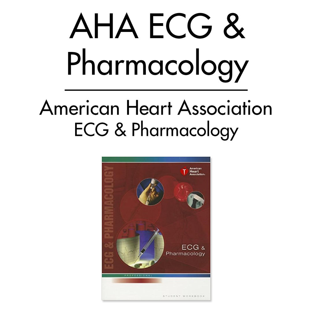ECG and Pharmacology