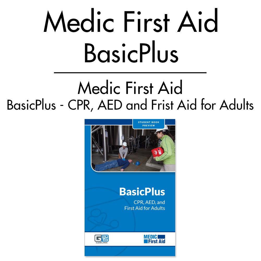 Medic First Aid Basicplus Life Safety Training