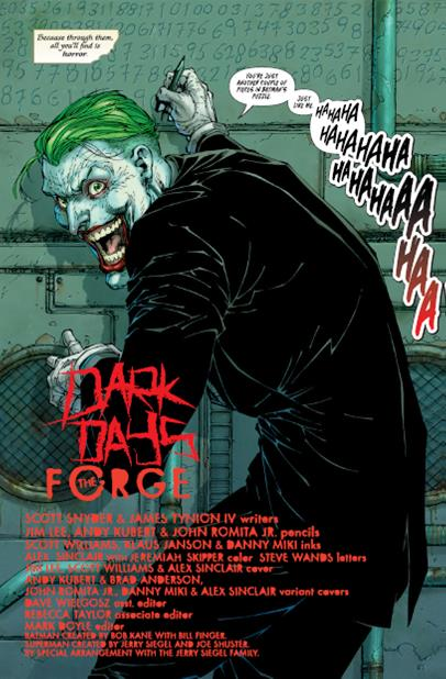 - The final panel, revealing the Joker as the prisoner, makes me so excited to see where this story will go and had me reading it several more times before writing this.