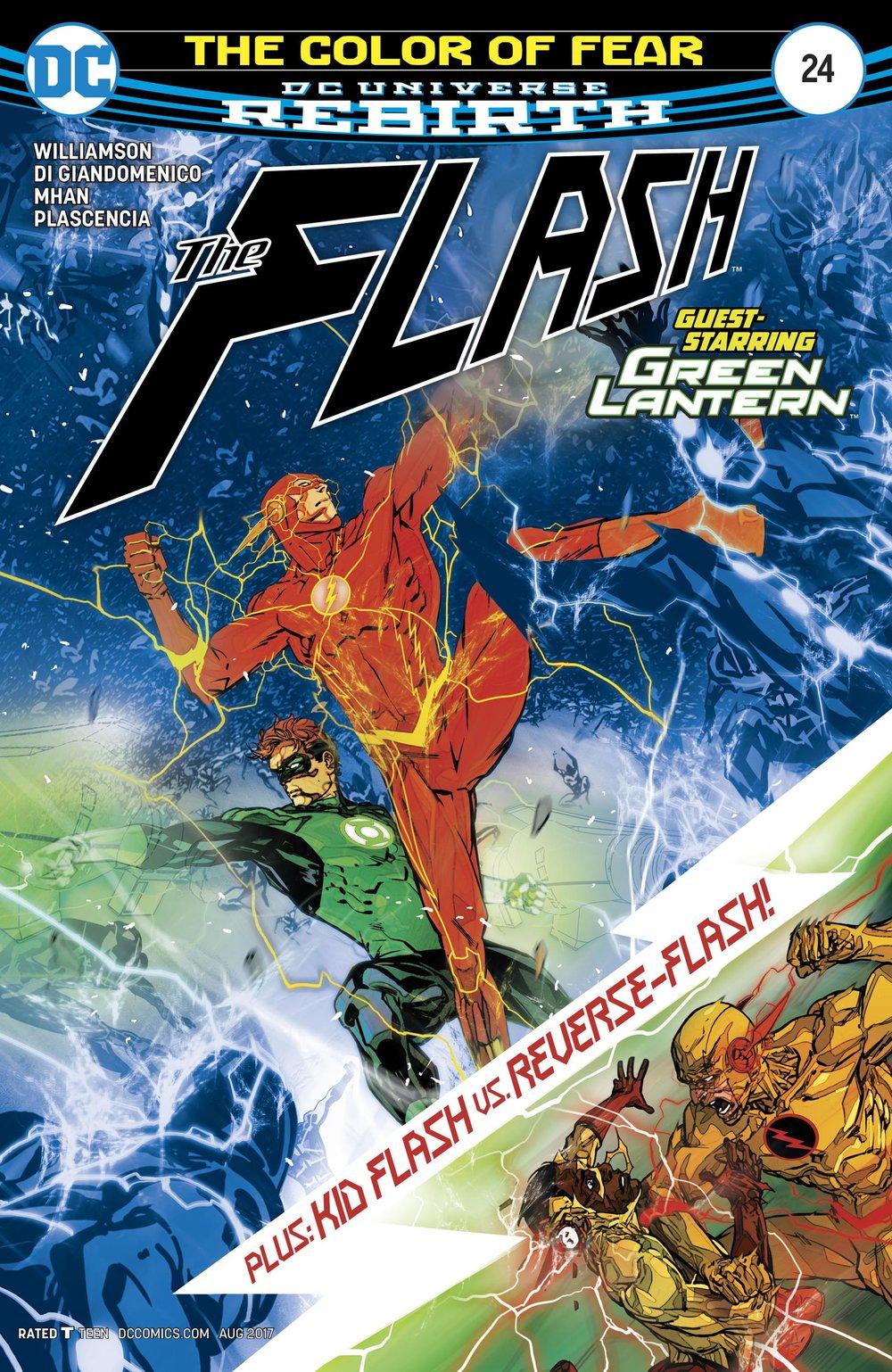 The Flash #24 (DC) - By Joshua Williamson / Artists: Pop Mhan & Carmine Di Giandomenico