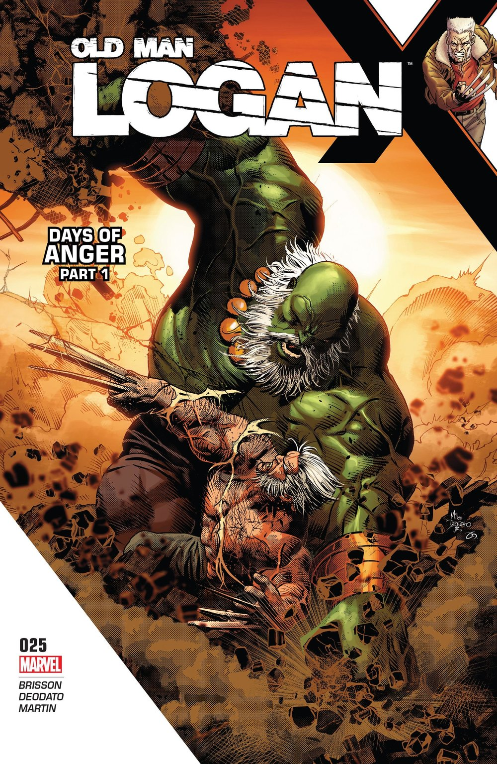 Old Man Logan #25 (Marvel) - By Ed Brisson / Artist: Mike Deodato