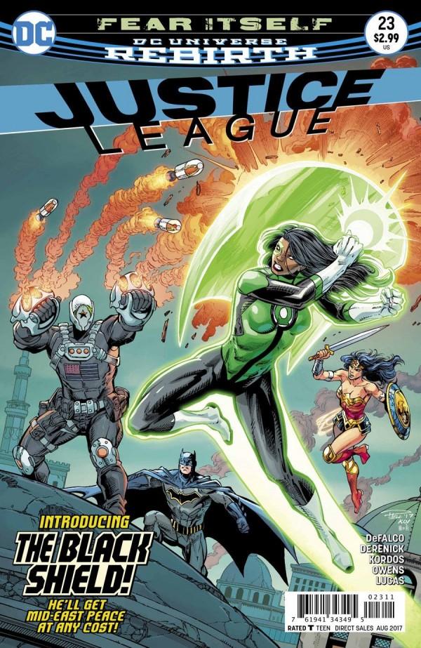 Justice League #23 -