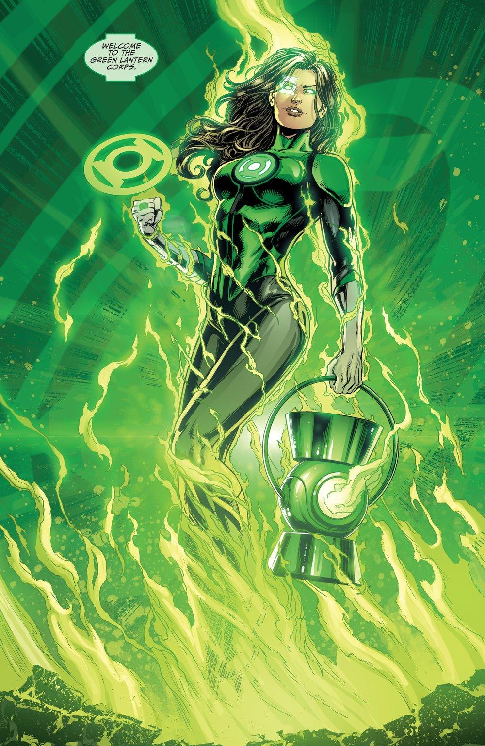 Green Lantern Jessica Cruz -