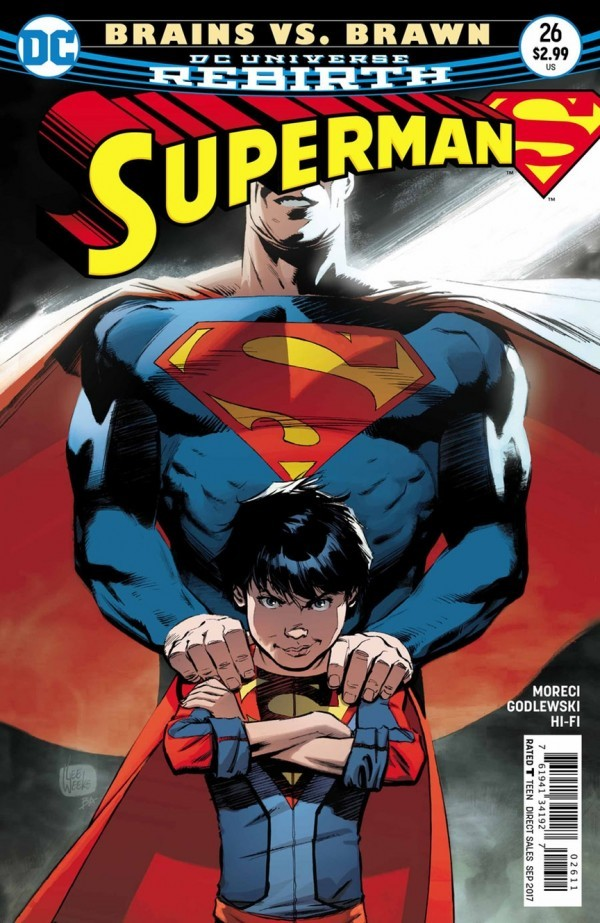 "Paul's Pick - Superman #26 by Jerru Siegel (Art by Scott Godlewski).""ROAD TRIP"" part one! It's been an emotional and physical rollercoaster for Superman, Lois, and Jon: the Eradicator, Dinosaur Island, Frankenstein and the Bride, Multiversity, Reborn and Black Dawn—a barrage of terror and horror! What does the family need right now? Yep, you got it...a vacation!"