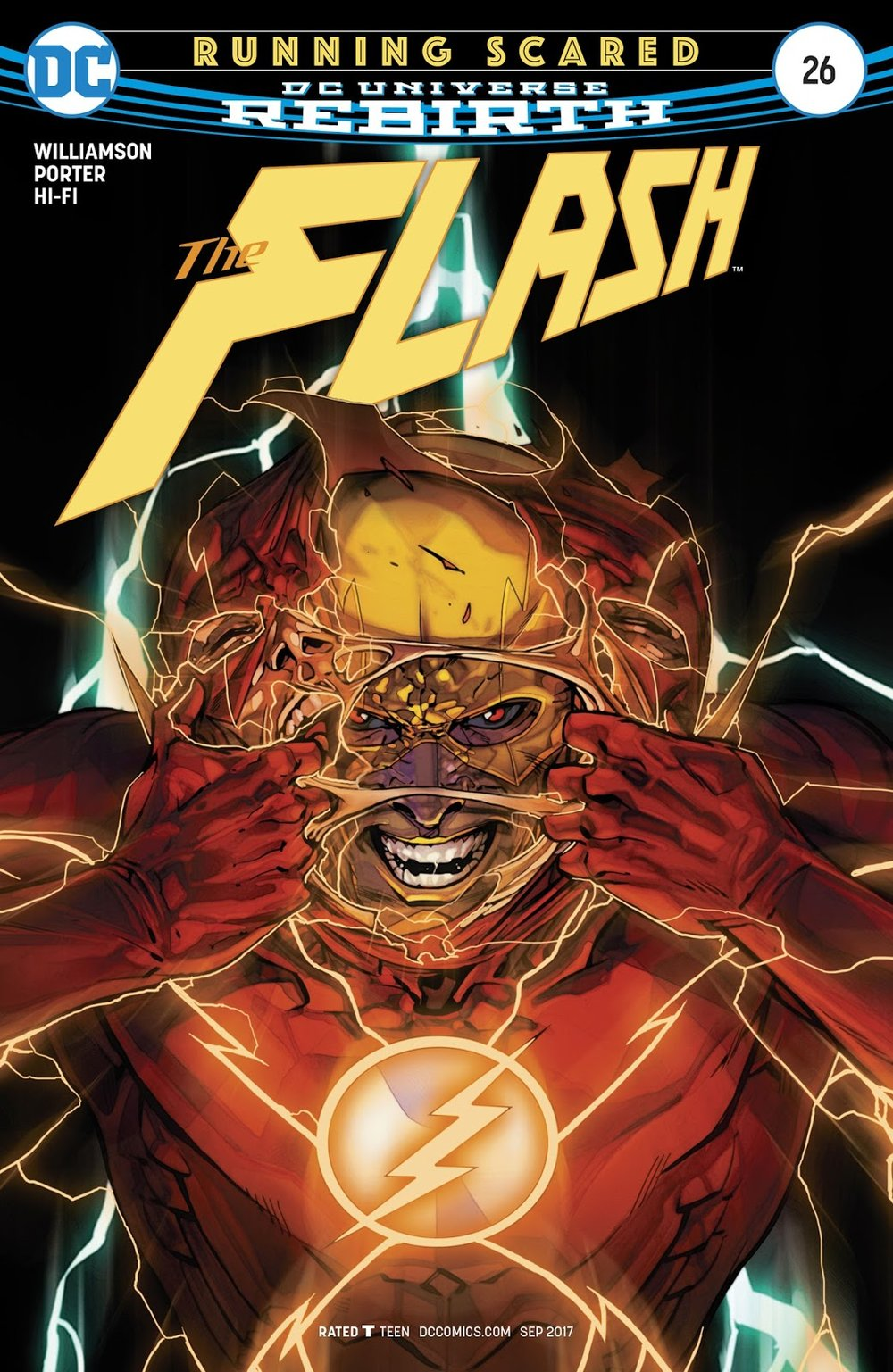 A.T.'s Pick - The Flash #26 (By: Joshua Williamson / Artist: Howard Porter)