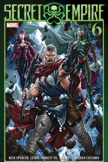 A.T.'s Pick - Secret Empire #6 (By: Nick Spencer / Artist: Leinil Francis Yu)