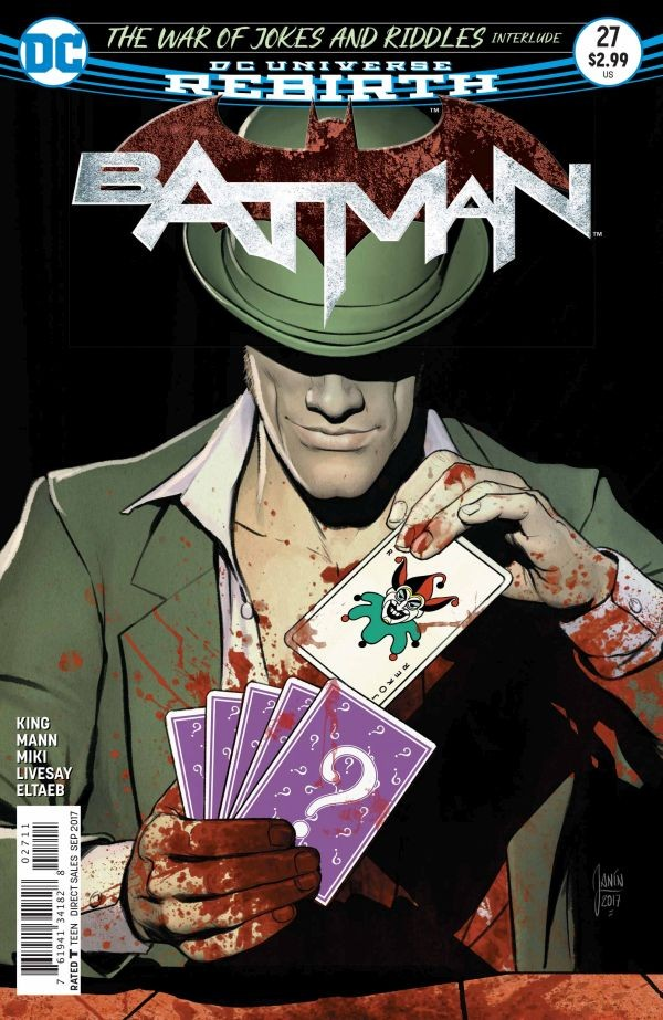We all agree! - Batman #27 (By: Tom King / Artist: Clay Mann)Because Kite Man! Hell Yeah!