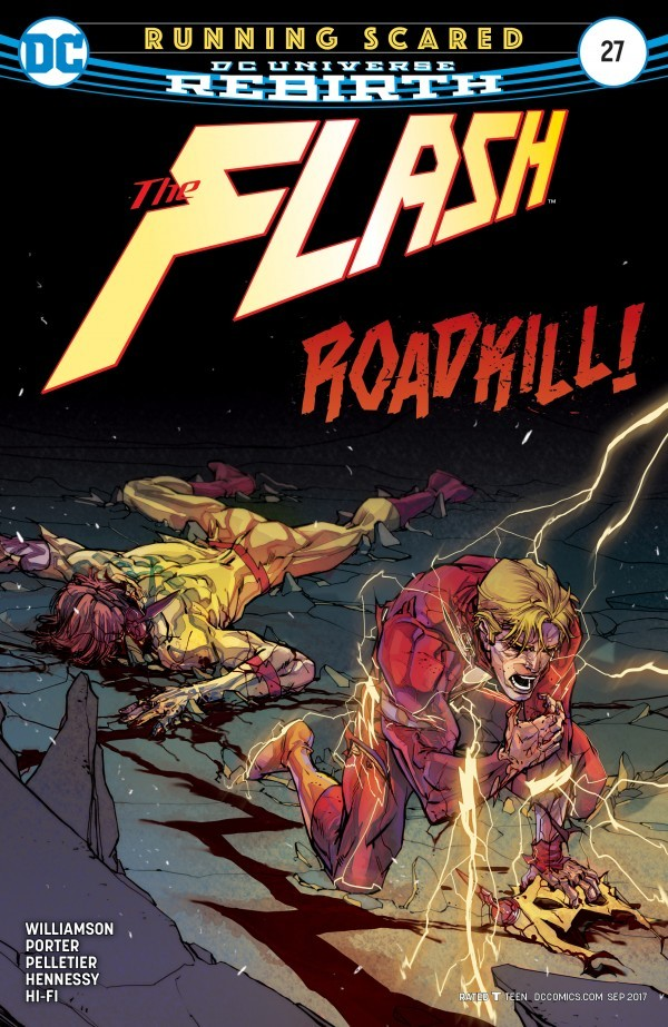 A.T.'s Pick - The Flash #27 (By: Joshua Williamson / Artist: Howard Porter & Paul Pelletier)