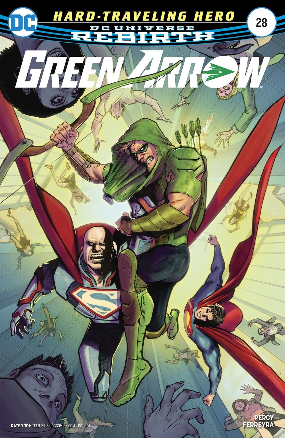 Heath's Pick - Green Arrow #28 (By: Benjamin Percy / Artist: Juan Ferreyra)