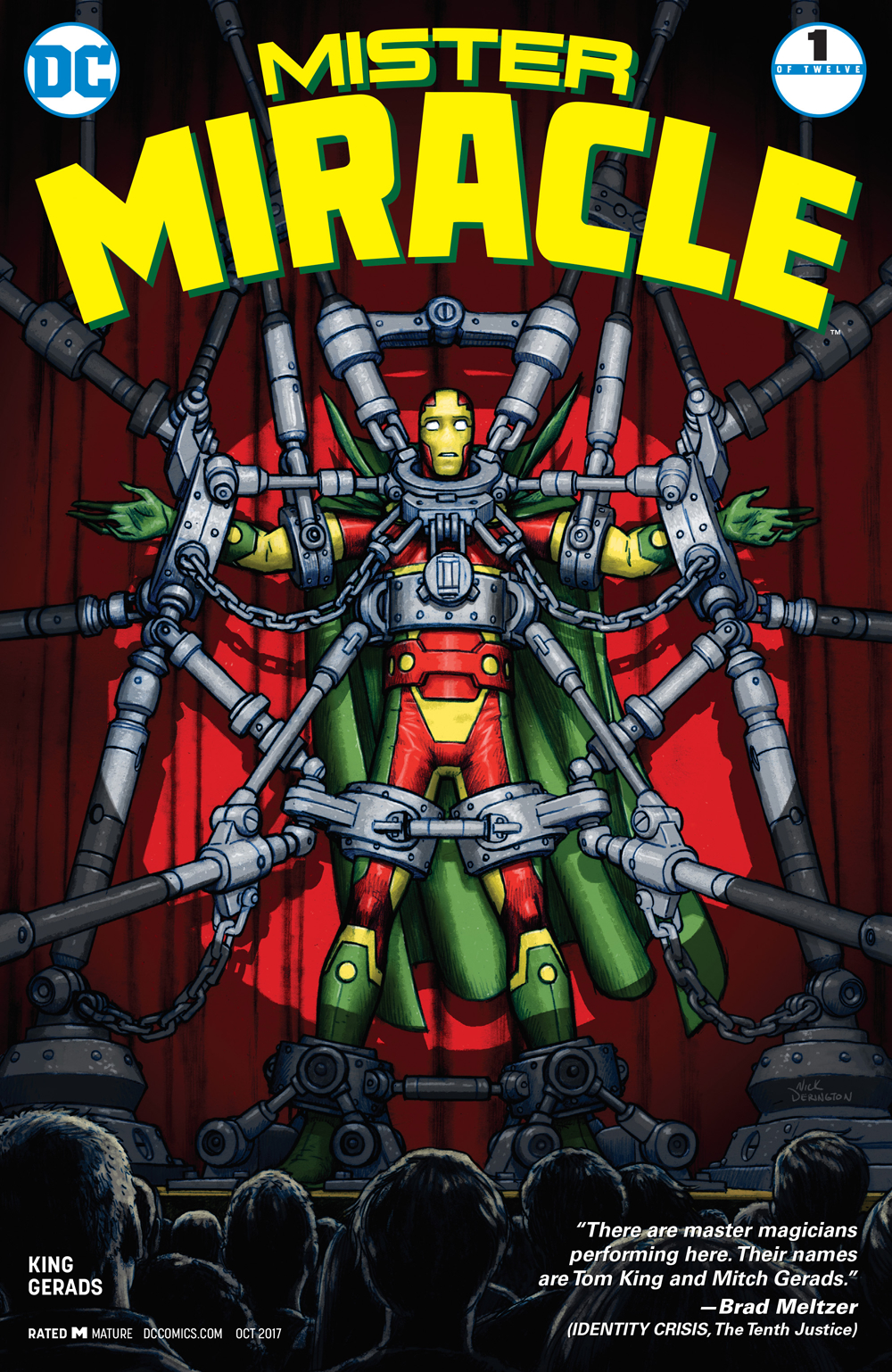 Heath's Pick - Mister Miracle #1 (By: Tom King / Artist: Mitch Gerads)