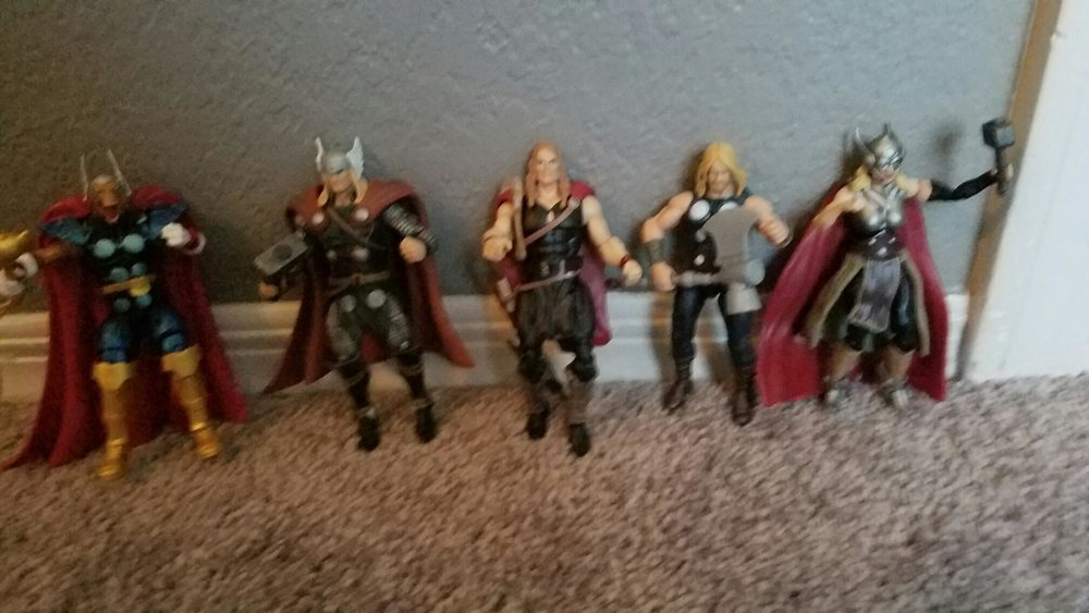 - Thor Corps!  The only good thing that came out of Secret Wars 2.