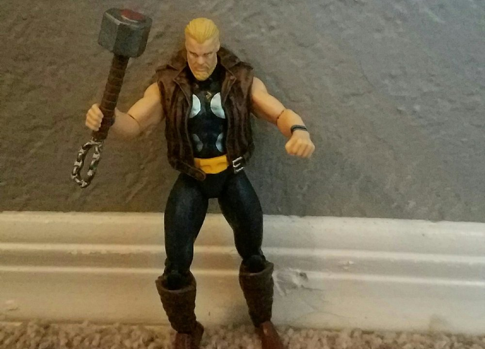 - Sup folks! I'm Thunder Strike. I was Thor when he was dead for the 2nd time. Yep, the only mortal to lift the hammer.  Pretty special right?  Then Thor came back and I got this stupid mace instead.  I was killed shortly after. Oh a new Thor happened while I was dead and you guessed it, another