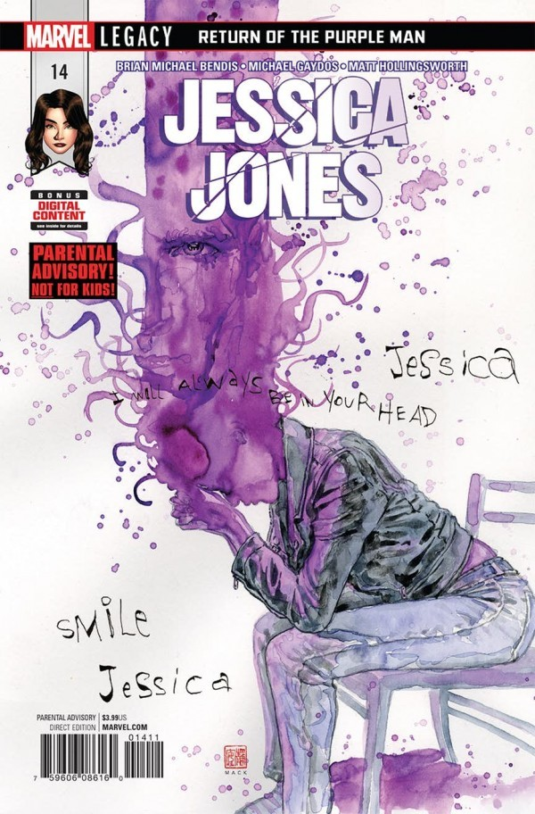 Paul's Pick - Jessica Jones #14 (By: Brian Michael Bendis / Artist: Michael Gaydos)