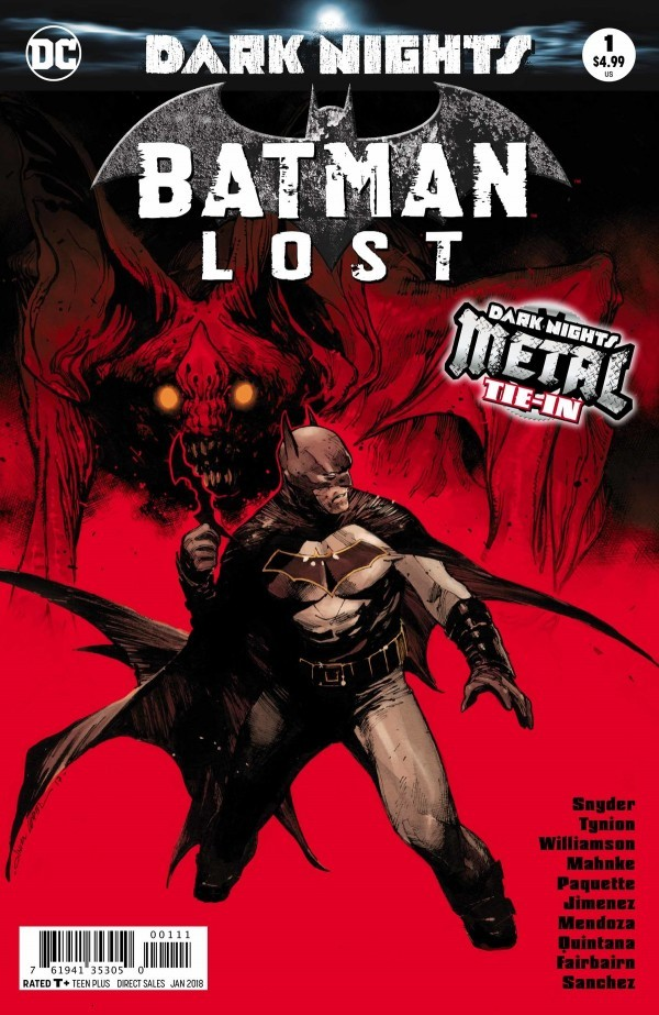 Heath's Pick - Batman Lost (By: Scott Snyder, Joshua Williamson, & James Tynion IV / Artist: Yanick Paquette, Jorge Jimenez, & Doug Mahnke)