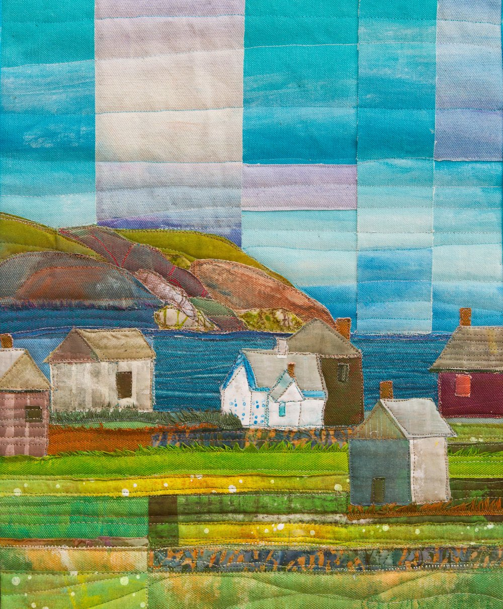 Houses on Monhegan