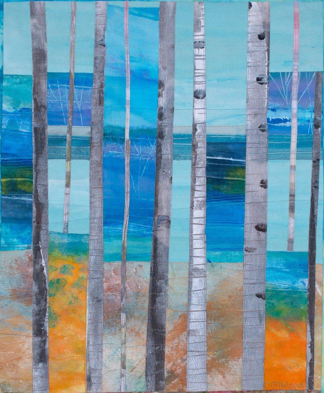 Birches #1